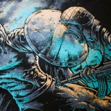 T-shirt Molon Labe Spartan Guerrier