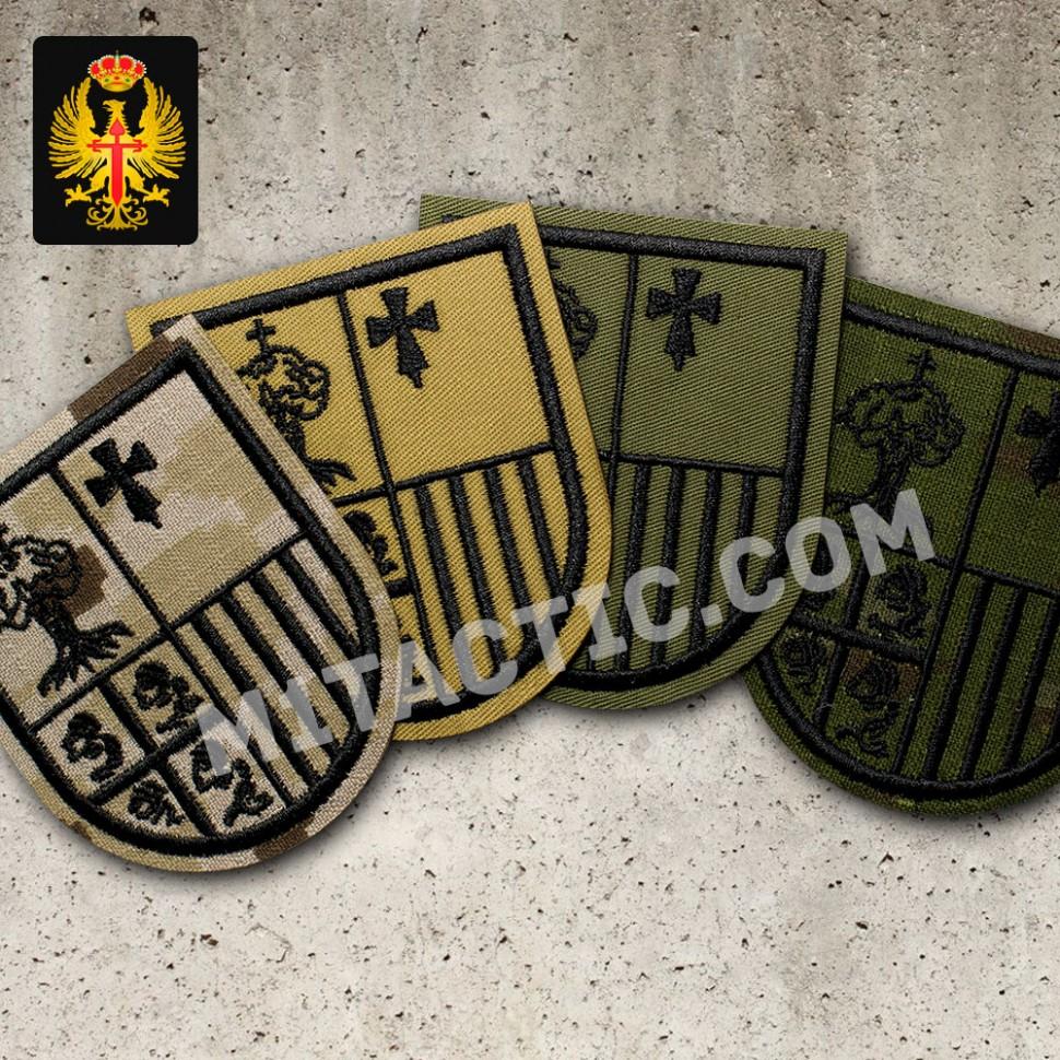 "BRCZM - ""ARAGÓN I"" - Jefatura Tropas de Montaña Emblem / Patch"