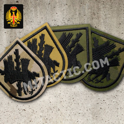 7th Airborne Light Infantry Brigade 'Galicia' Emblem / Patch
