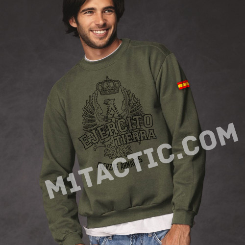 Olive Drab Spanish Army Sweatshirt