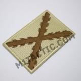 Parche / Bandera Tercios (Marrón)