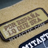 "Embroidered Patch ""Por España lo que sea"""