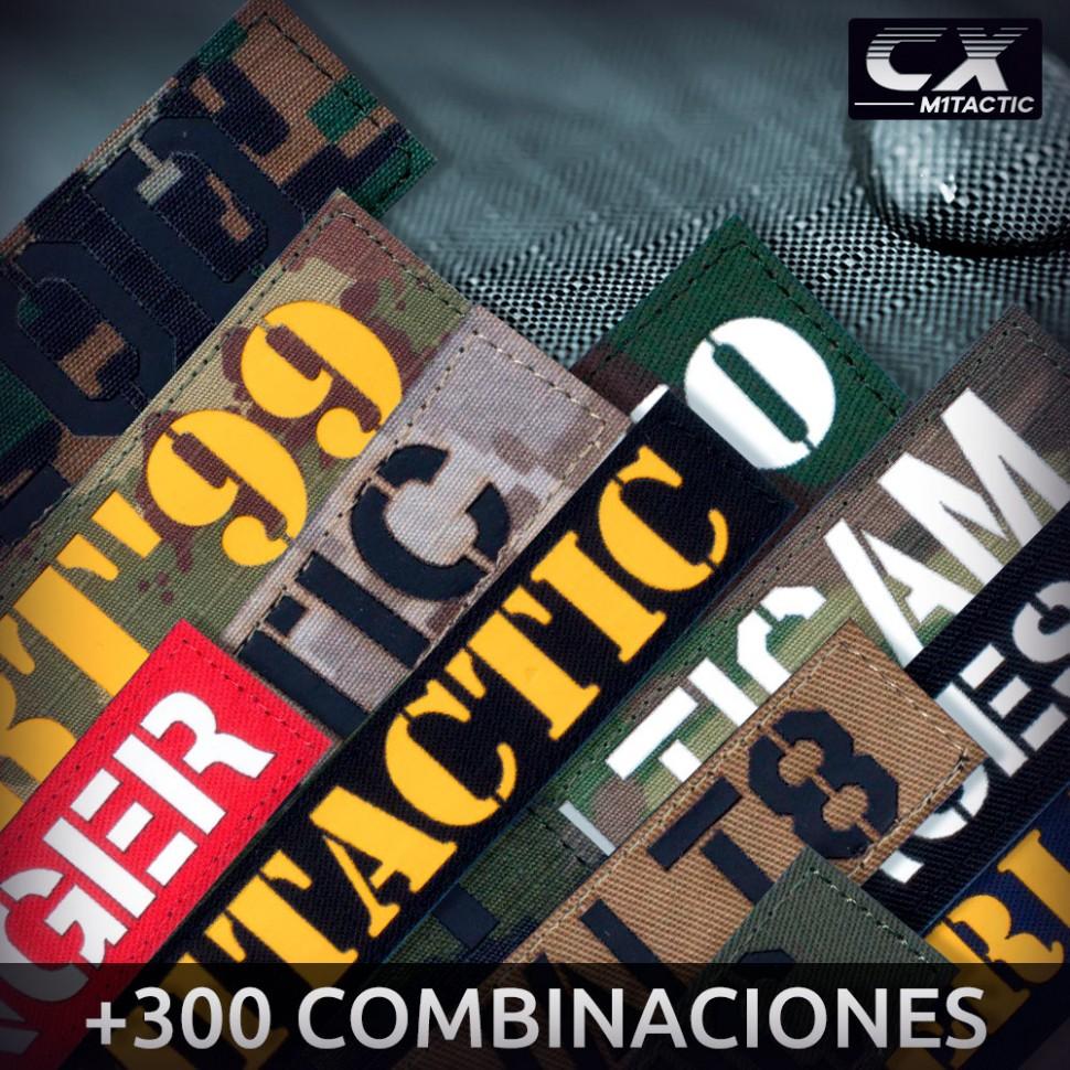 Bande Patronymique Personnalisée CX dans tous les camouflages