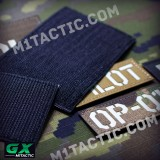 Custom Call Sign Id Patch (Glow in the Dark)