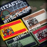 Parche / Bandera de España - Pequeña - Baja Visibilidad
