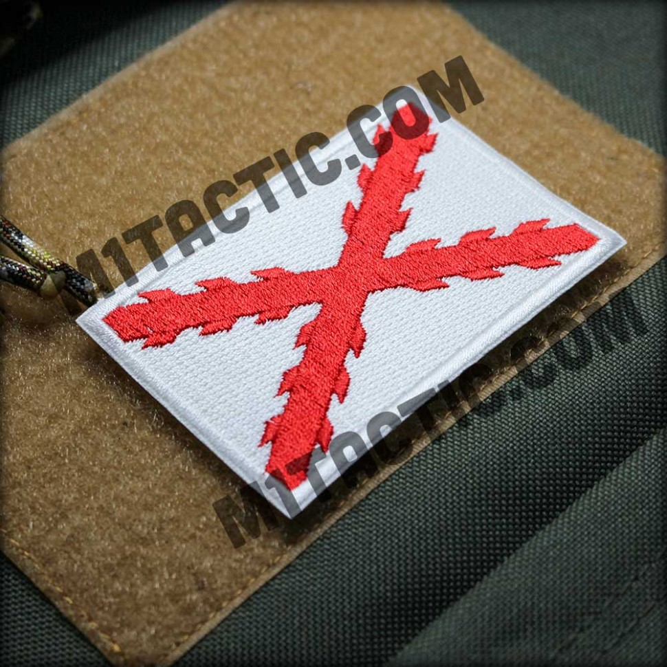 Patch Brode Tercios Espagne (blanc)