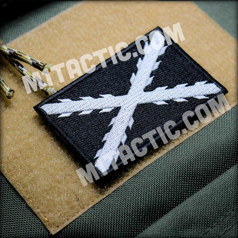 Cross of Burgundy Embroidered Patch (SWAT - Police)