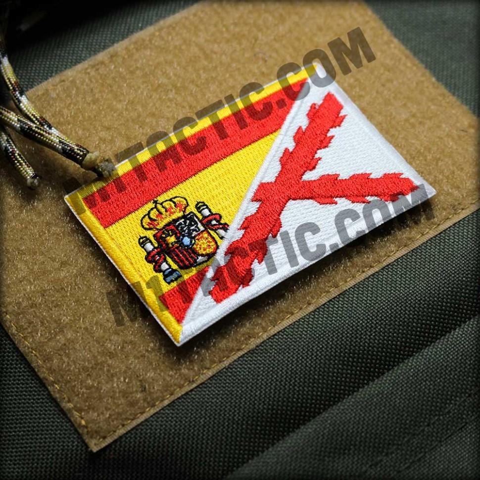 Parche / Bandera España-Tercios (Blanca)