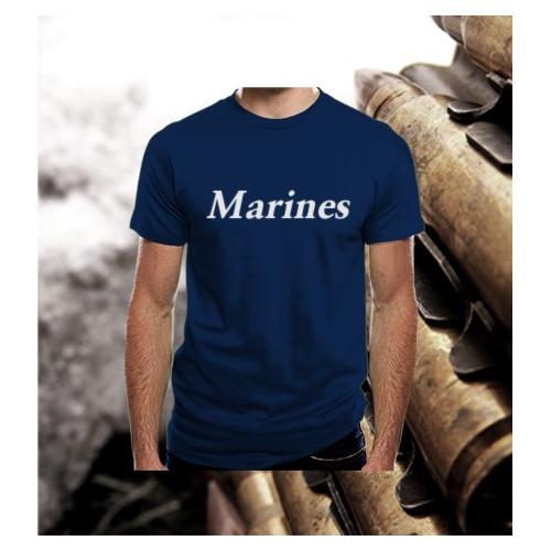 Camiseta Marines Navy