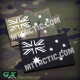 Brillent dans le Noir Drapeau de l'Australie GX