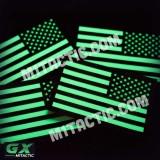 Brillent dans le Noir Drapeau USA GX