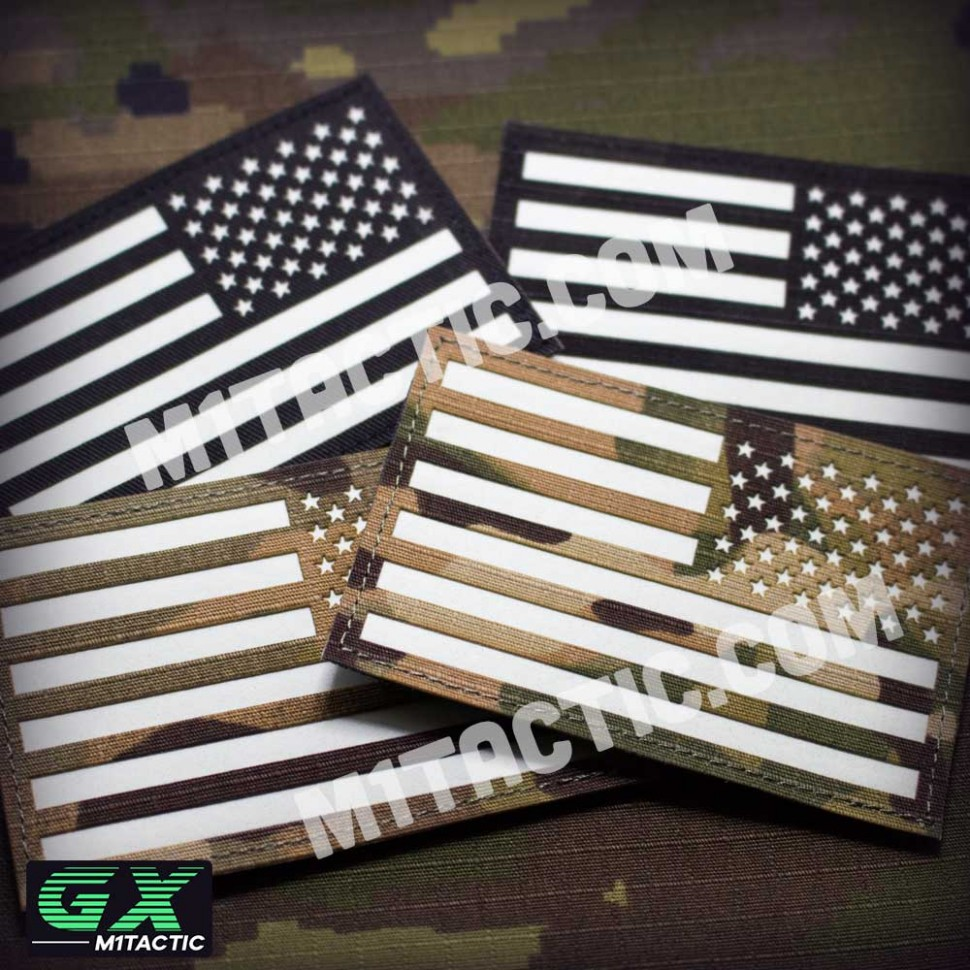 Glow in the Dark (GITD) USA GX Flag