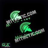 Bandera Molon Labe GX - Brillo en la Oscuridad