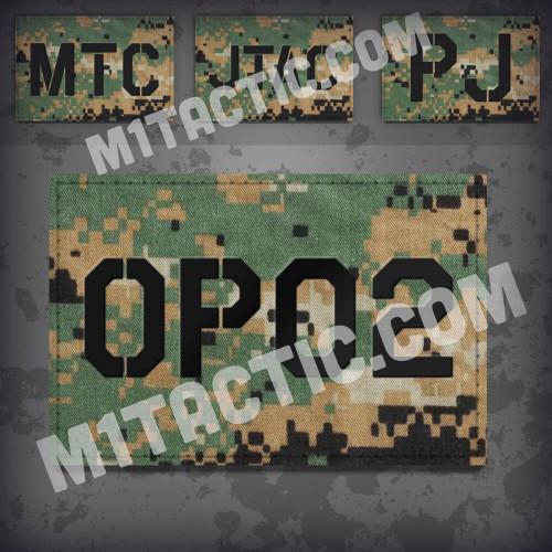 Custom Marpat Call Sign Id patch