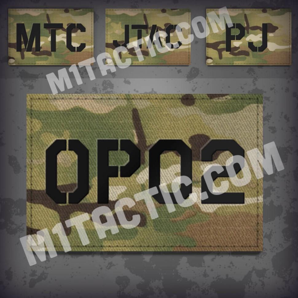 Personnalisée identifiant d'opérateur / callsign de Patch Multicam