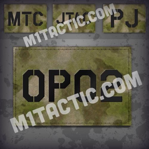 Custom ATACS FG Call Sign Id patch