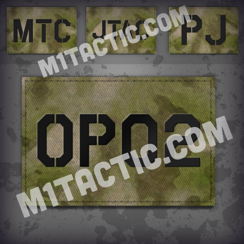 Personnalisée identifiant d'opérateur / callsign de Patch ATACS FG