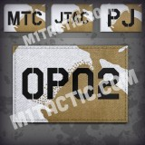 Custom Desert DPM Call Sign Id patch