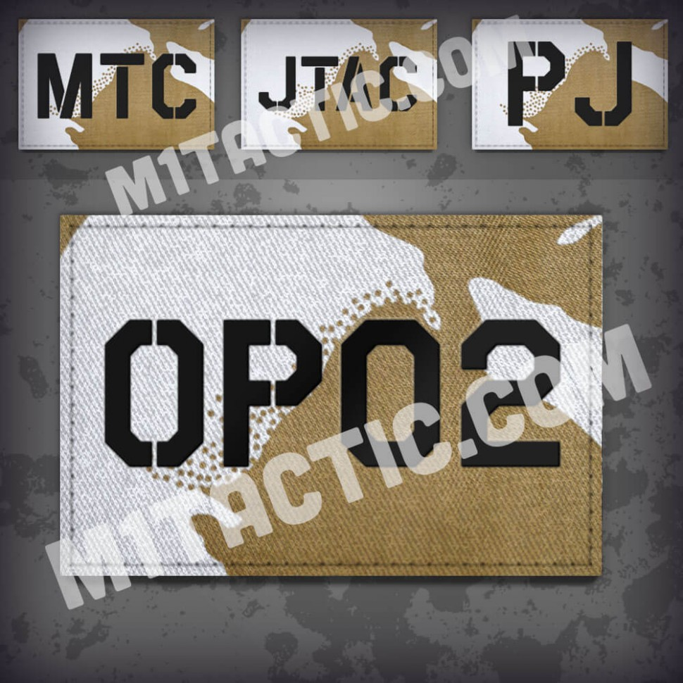 Parche de operador identificativo / callsign personalizado en Desert DPM
