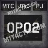 Parche de operador identificativo / callsign personalizado en Multicam Black