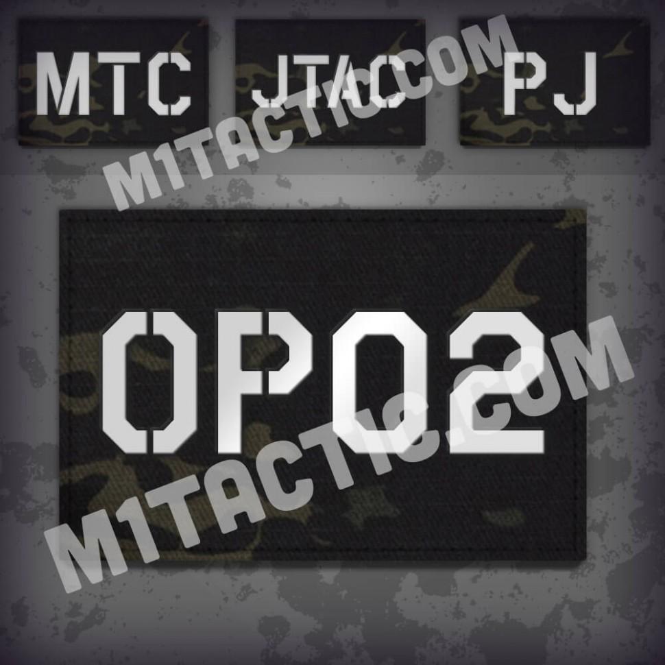 Personnalisée identifiant d'opérateur / callsign de Patch Multicam Black