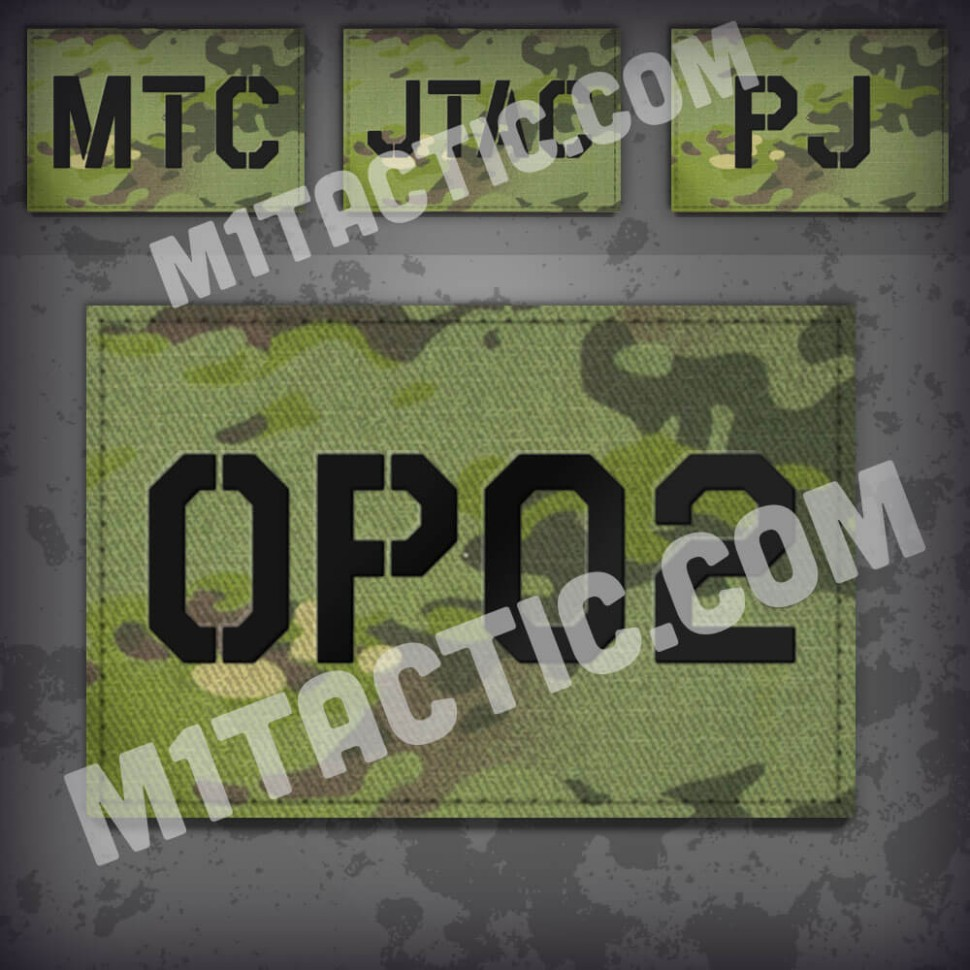 Custom Multicam Tropic Call Sign Id patch
