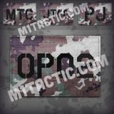 Personnalisée identifiant d'opérateur / callsign de Patch Vegetato