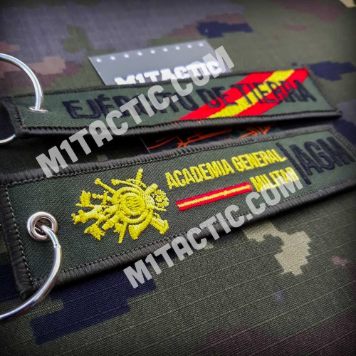 AGM - Academia General Militar Zaragoza Keychain