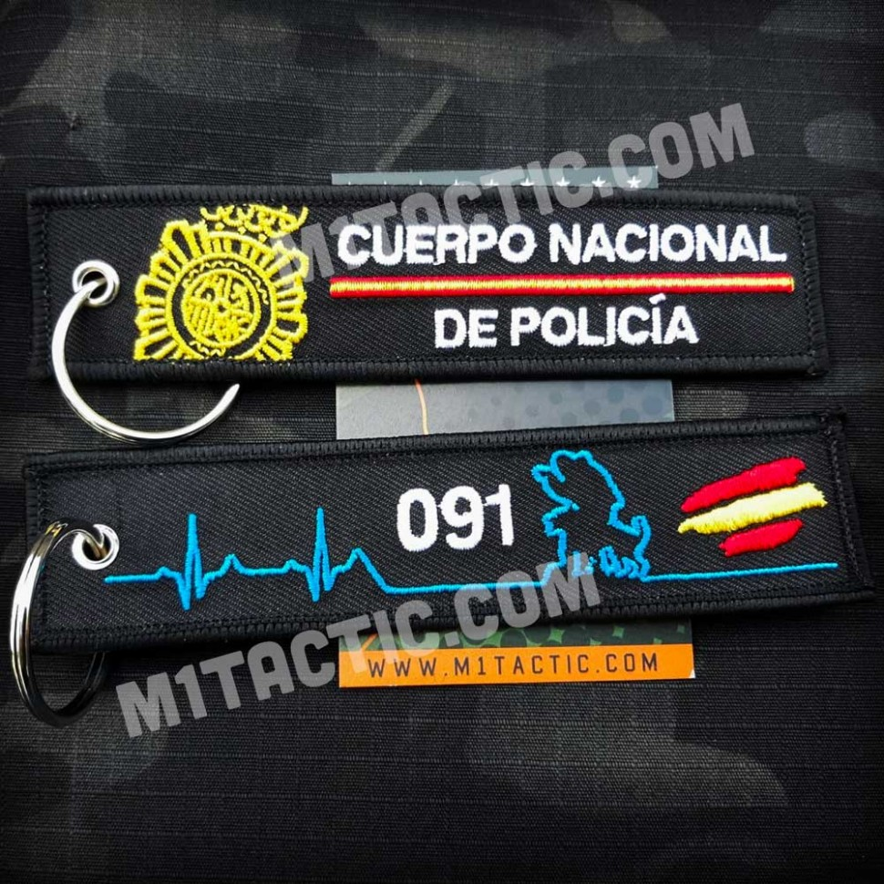 Cuerpo Nacional de Policía (CNP) Keychain
