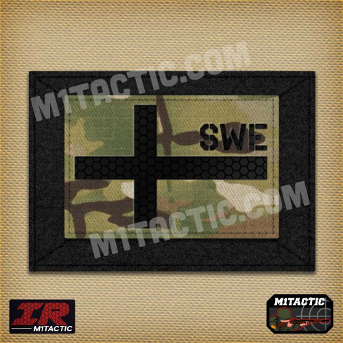 Infrared IR Sweden Flag - Multicam