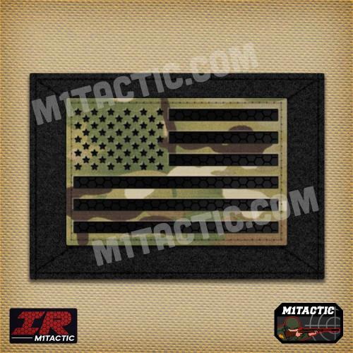 Infrared IR USA Flag - Multicam