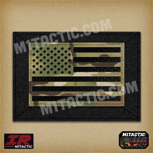 IR Drapeau USA Infrarouge - Multicam