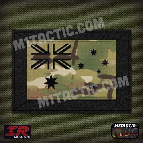 Infrared IR Australia Flag - Multicam