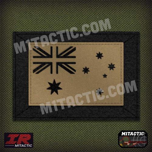 IR Drapeau Australie Infrarouge - Tan/Aride
