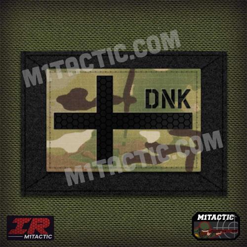 Infrared IR Denmark Flag - Multicam