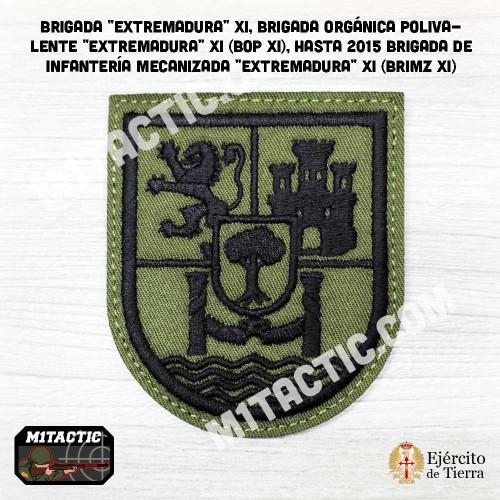 """Emblème / Patch Brigada """"Extremadura"""" XI - BRIMZ - Olive"""