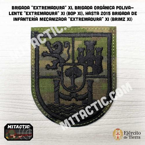 "Brigada ""Extremadura"" XI - BRIMZ - Boscoso Emblem / Patch"