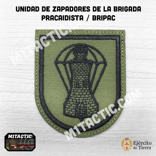 Parche de brazo Batallón de Zapadores VI (BZAP-VI) - Verde Caqui