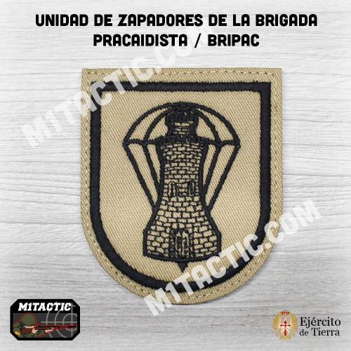Batallón de Zapadores VI (BZAP-VI) - Arid / TAN Emblem / Patch