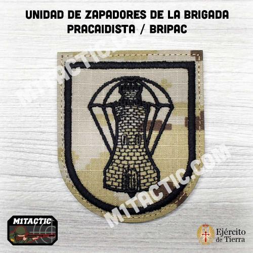 Emblème / Patch Batallón de Zapadores VI (BZAP-VI) - Árido Pixelado