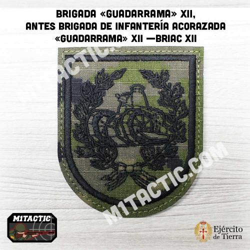 """Brigada """"Guadarrama"""" XII - BRIAC XII - Boscoso Emblem / Patch"""