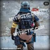 Nametape personnalisée Noir - Blanc (SWAT)