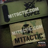 Callsign with flag and custom text