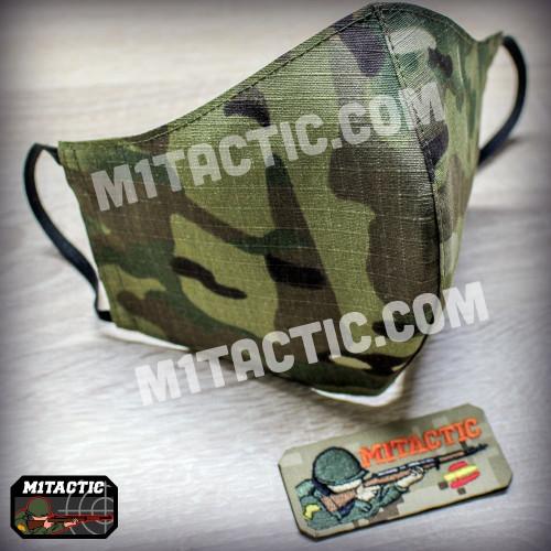 Multicam camouflage mask