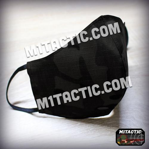 Multicam Black camouflage mask