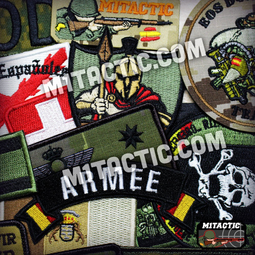 Embroidered Military Patches