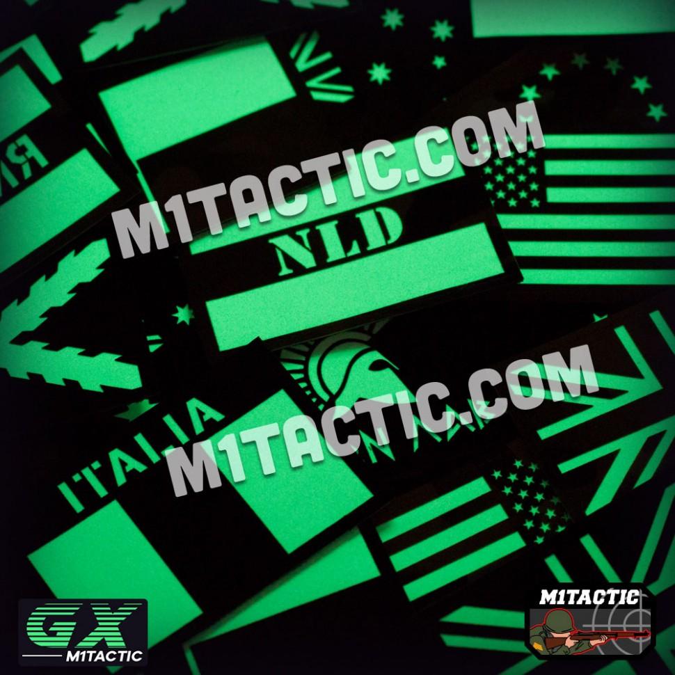 Custom GX Glow in the Dark Patches