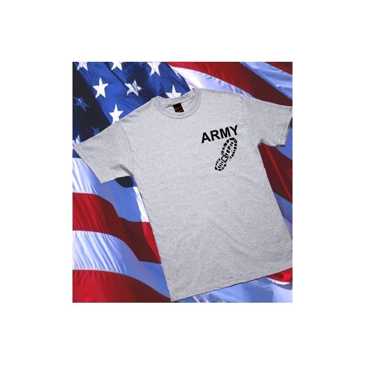 Camiseta ARMY Boot M1 Gris