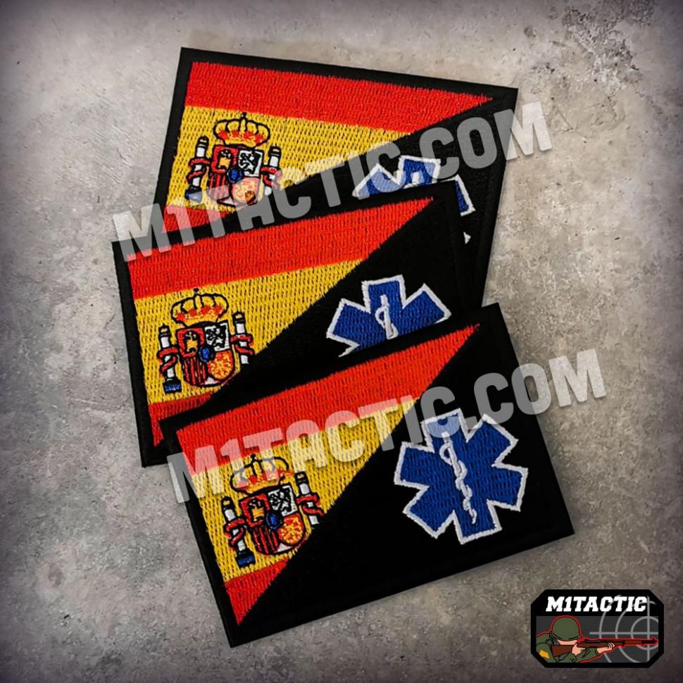 Patch / Flag Spain - Sanitary EMT
