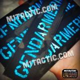 Custom Reflective Name Tape RX - Vest